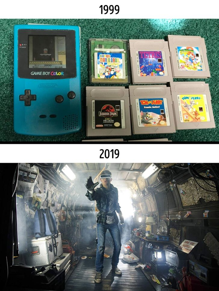 15 Photos That Show How Drastically Things Can Change in Just 20 Years