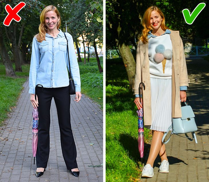 10 Simple Ways to Restyle Outdated Clothes and Look Trendy