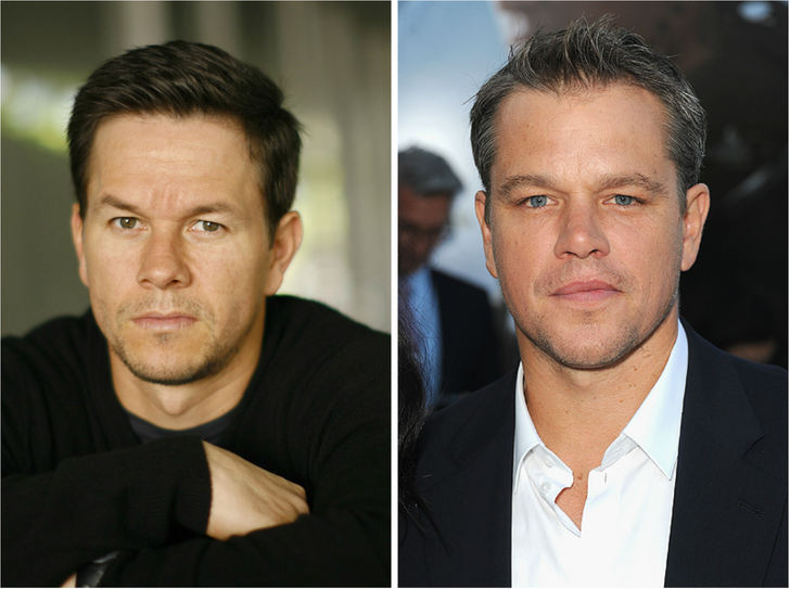 30celebrities soincredibly similar that they look like they were separated atbirth