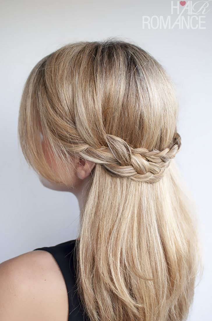 10 cute hairstyle ideas for medium-length hair
