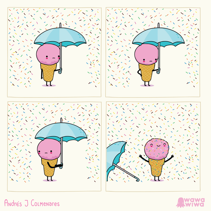 ASelf-Taught Illustrator From Colombia Draws Comics That Combine Cuteness and Sarcasm