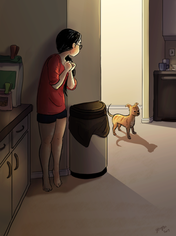 18Cartoons Showing the Magic ofLiving Alone