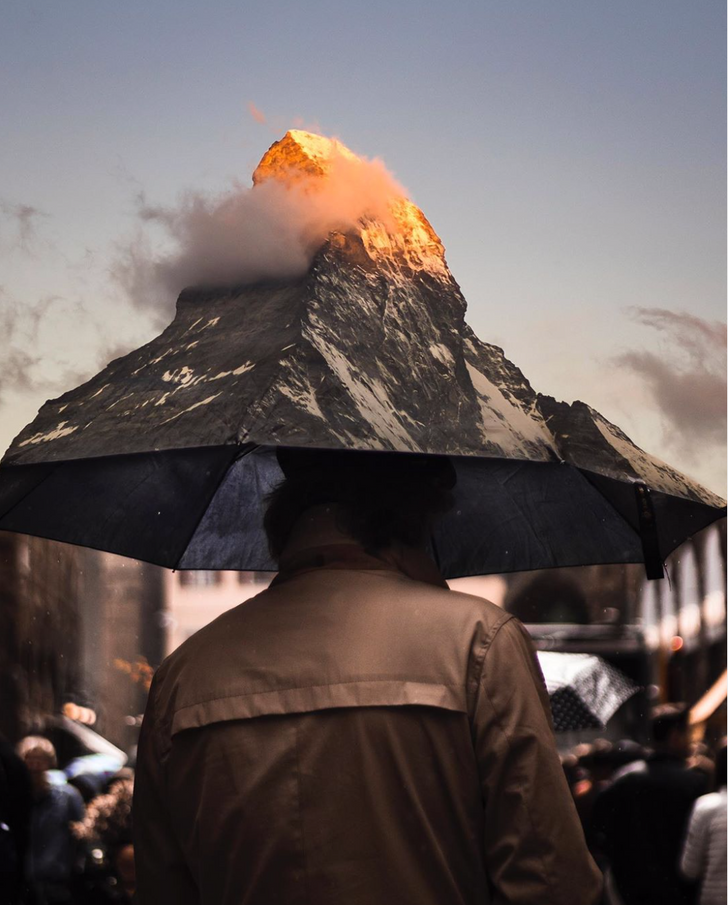 Artist Creates a Surreal World That Seems to Be Straight Out of Salvador Dali's Dreams